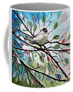 Sage Glimmering Songbird  Coffee Mug