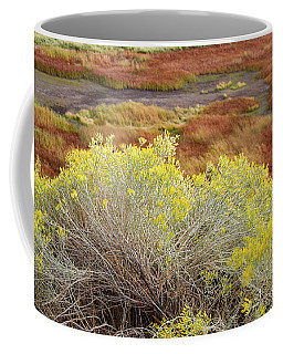 Sagebrush In The Malheur National Wildlife Refuge Coffee Mug