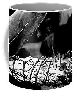 Saging Of The Black Bear 1 Coffee Mug by Ayasha Loya