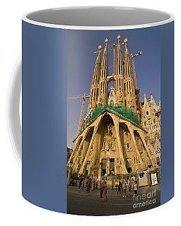 Sagrada Famila In The Fading Sun. Coffee Mug