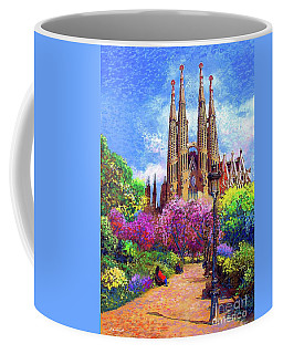 Sagrada Familia And Park Barcelona Coffee Mug