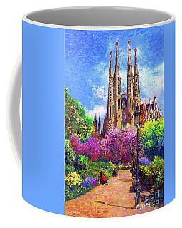 Sagrada Familia And Park,barcelona Coffee Mug