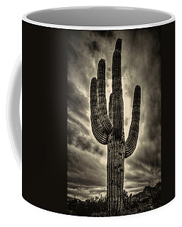 Saguaro And Storm Clouds Coffee Mug