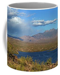 Saguaro Lake Panorama Coffee Mug