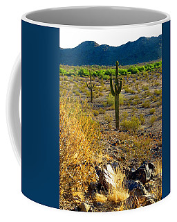 Saguaros Blooming Coffee Mug