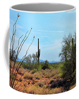 Saguaros In Sonoran Desert Coffee Mug