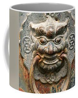 Saigon Door Knocker Coffee Mug by For Ninety One Days