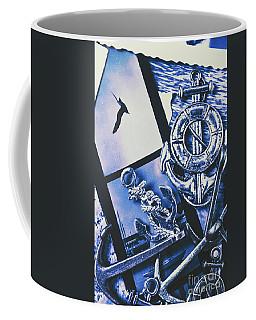 Sail Anchors And Boat Buoys  Coffee Mug