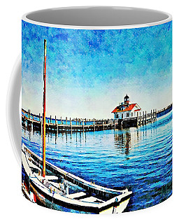 Coffee Mug featuring the painting Sail Away by Joan Reese