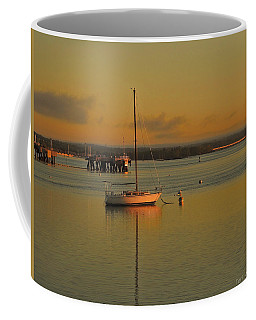 Sailboat Glow Coffee Mug