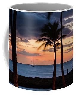 Sailboat In The Sunset Coffee Mug