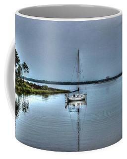 Sailboat Off Plash Coffee Mug