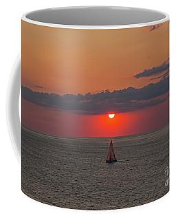 Sailboat Sunset Coffee Mug