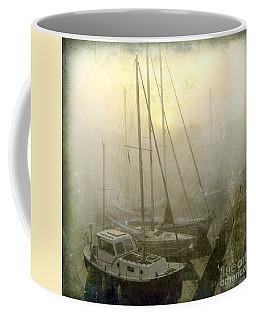 Sailboats In Honfleur. Normandy. France Coffee Mug