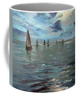 Sailboats On The Chesapeake Bay Coffee Mug