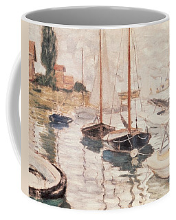 Sailboats On The Seine Coffee Mug