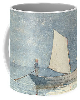 Sailing A Dory Coffee Mug