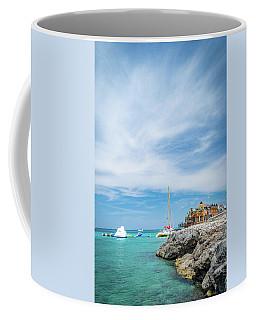 Coastline Sailing In Montego Bay Coffee Mug