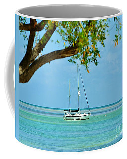 Sailing Away To Key Largo Coffee Mug