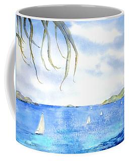 Sailing Between The Islandsd Coffee Mug