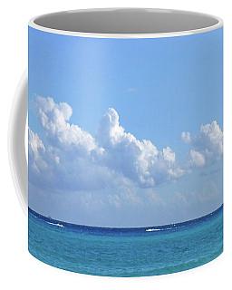 Coffee Mug featuring the photograph Sailing Blue Seas by Francesca Mackenney