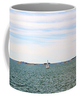 Sailing Boats In Summer Coffee Mug