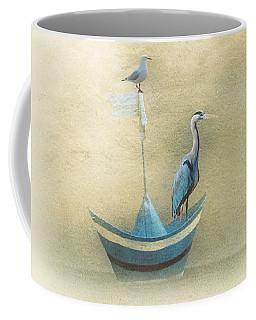 Sailing By The Moon Coffee Mug