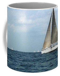 Coffee Mug featuring the photograph Sailing by Charles Robinson