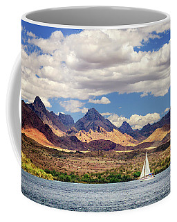 Sailing In Havasu Coffee Mug