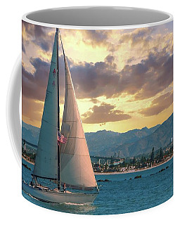 Sailing In San Diego Coffee Mug