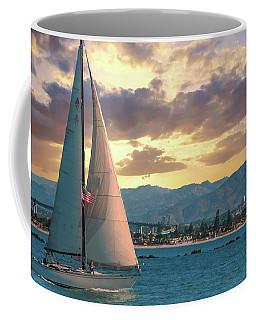 Sailing In San Diego Coffee Mug