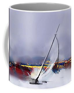 Sailing In Sxm Coffee Mug