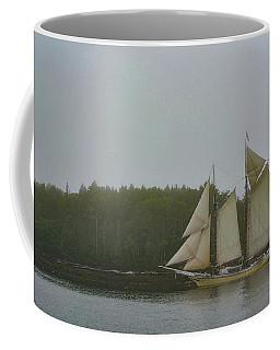 Sailing In The Mist Coffee Mug