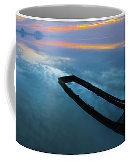 Sailing In The Sky Coffee Mug