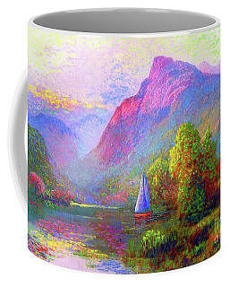 Sailing Into A Quiet Haven Coffee Mug