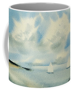 Sailing Into A Calm Anchorage Coffee Mug