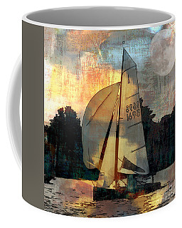 Sailing Into The Sunset Coffee Mug