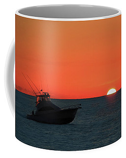 Sailing Into The Sunset Coffee Mug
