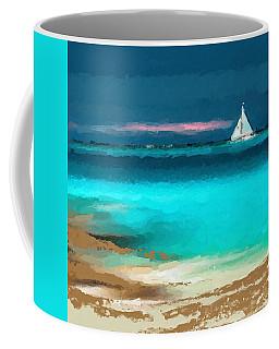Sailing Just Offshore Coffee Mug