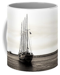 Sailing Lake Michigan Coffee Mug