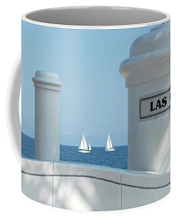 Sailing Las Olas Coffee Mug
