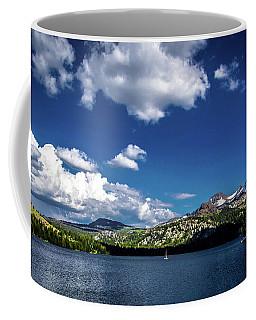 Sailing On Caples Lake Coffee Mug
