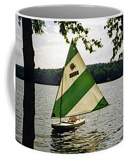 Sailing On Lake Dunmore No. 1 Coffee Mug
