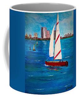 Sailing On The Charles Coffee Mug