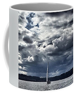 Sailing Puget Sound Coffee Mug
