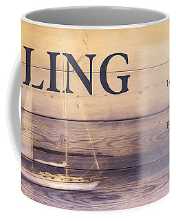 Coffee Mug featuring the photograph Sailing by Robin-Lee Vieira
