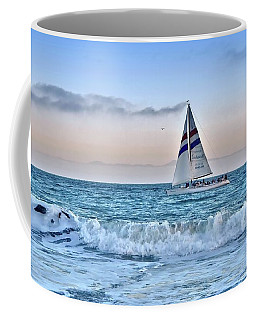 Sailing Santa Cruz Coffee Mug