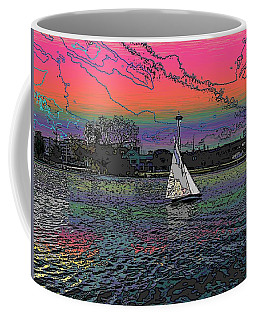 Sailing South Lake Union Coffee Mug