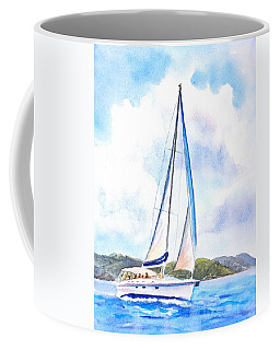 Sailing The Islands 2 Coffee Mug