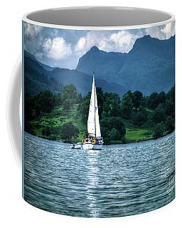 Sailing The Lakes Coffee Mug